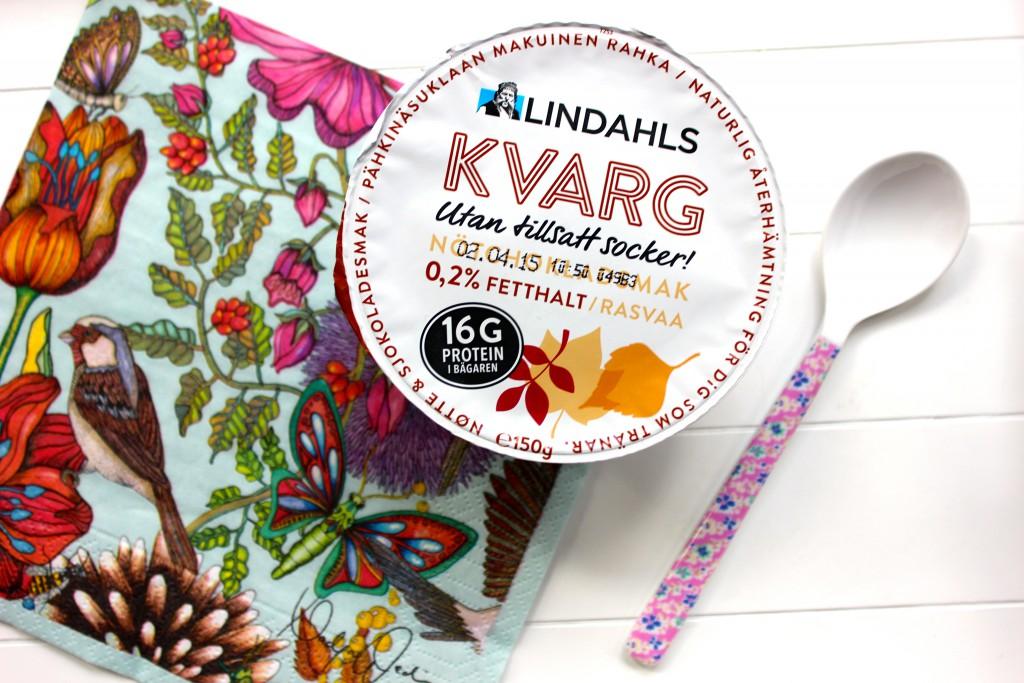 kvarg med nötchoklad lindahls