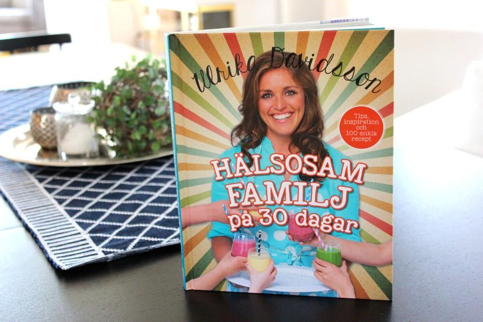 Boktips hälsosam familj på 30 dagar av Ulrika Davidsson