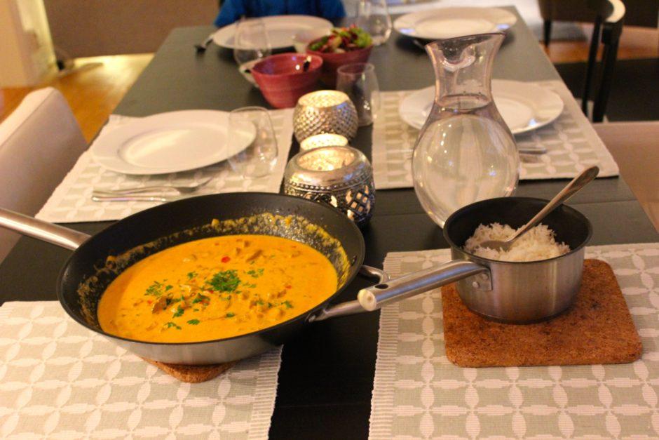 Kyckling curry lchf