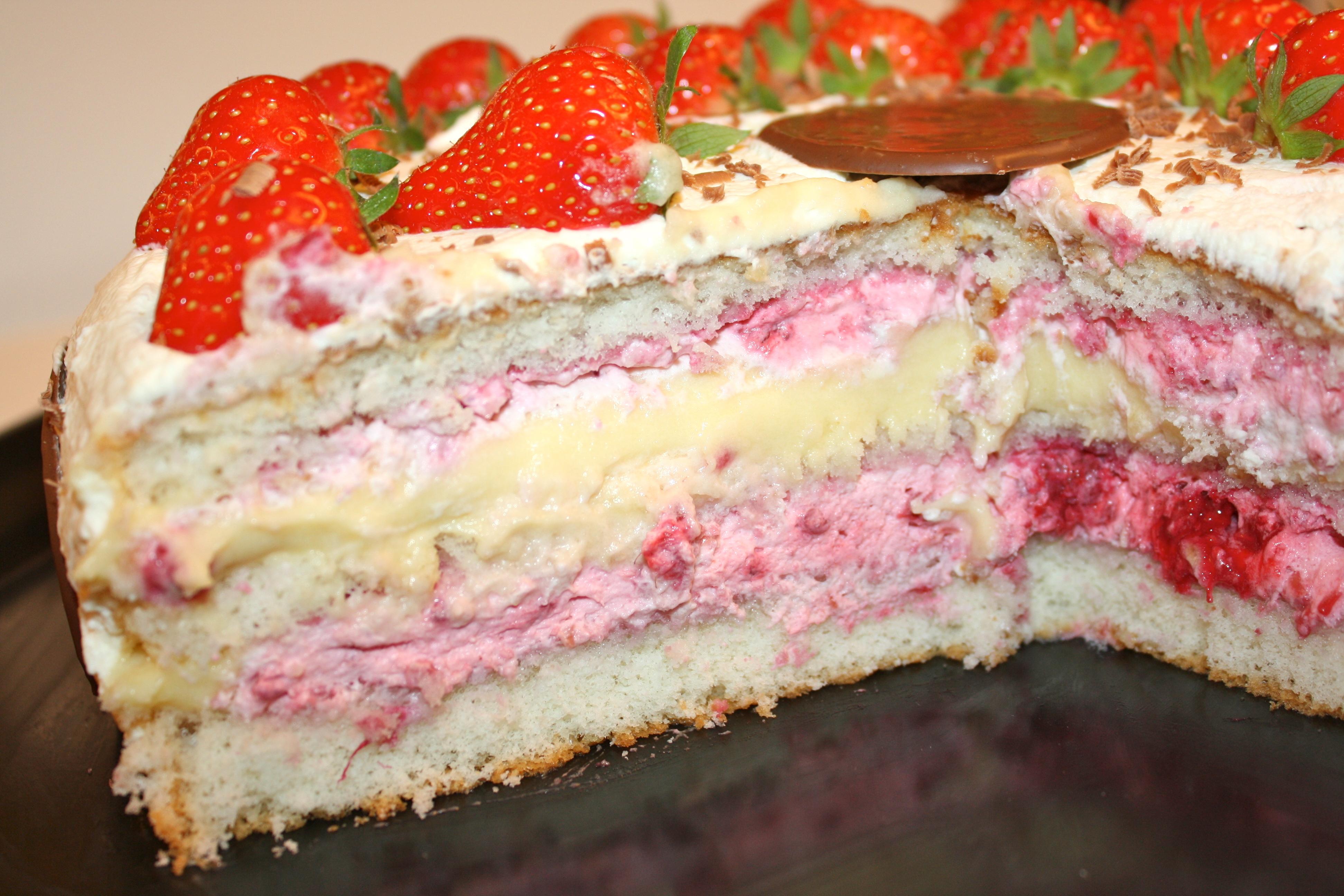 marsan vaniljkräm tårta