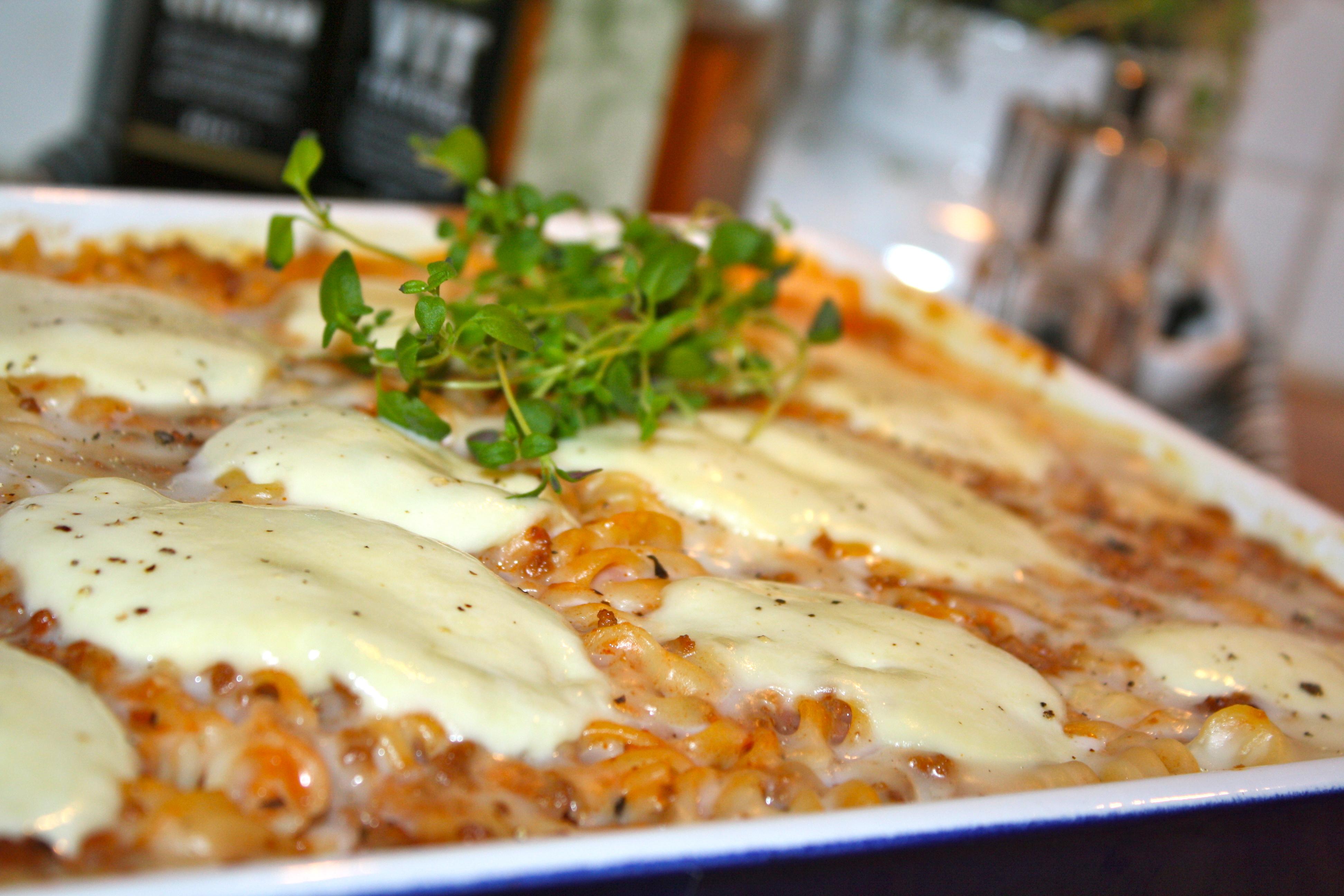 snabb lasagne recept