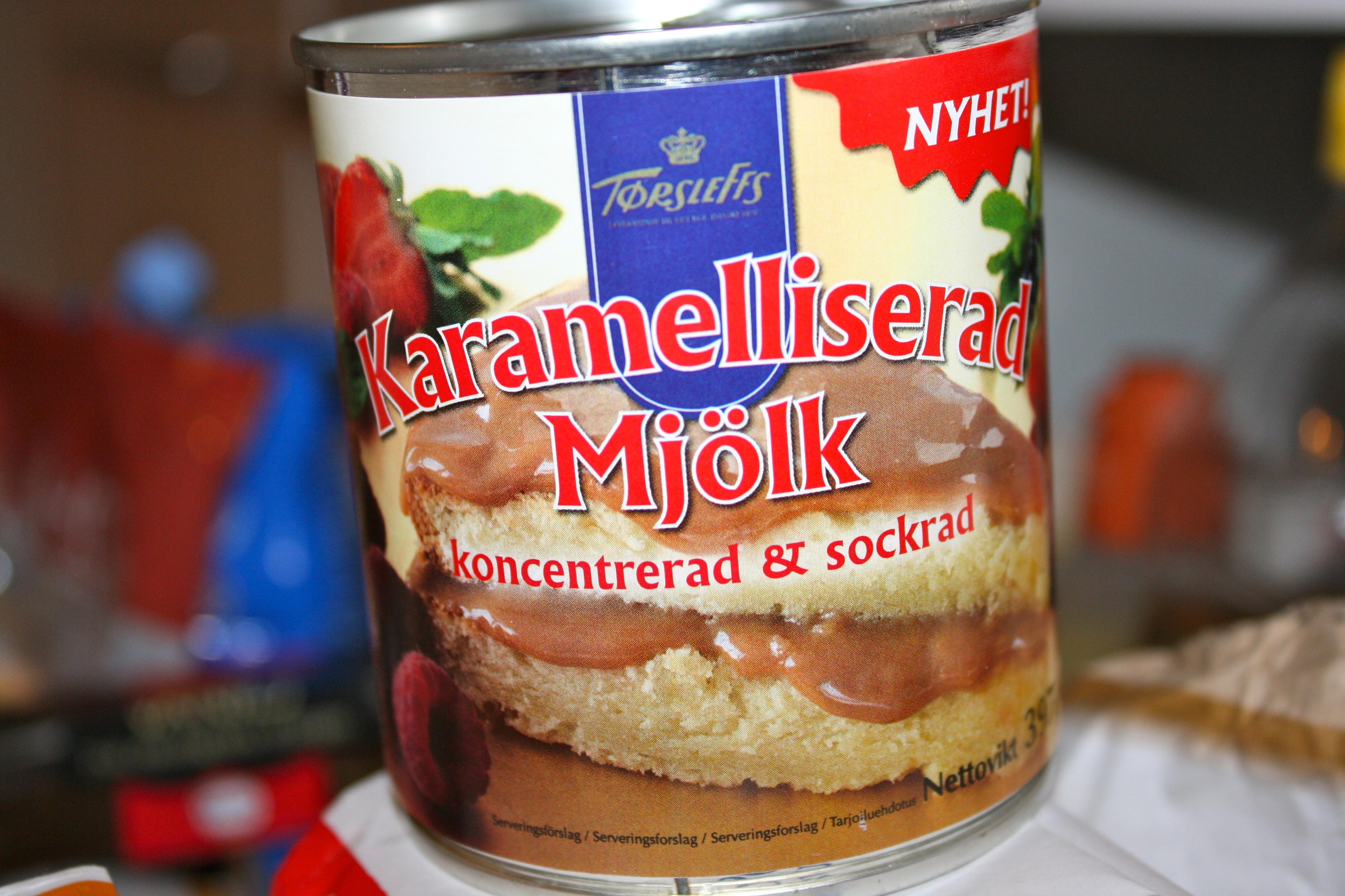karamelliserad mjölk ica