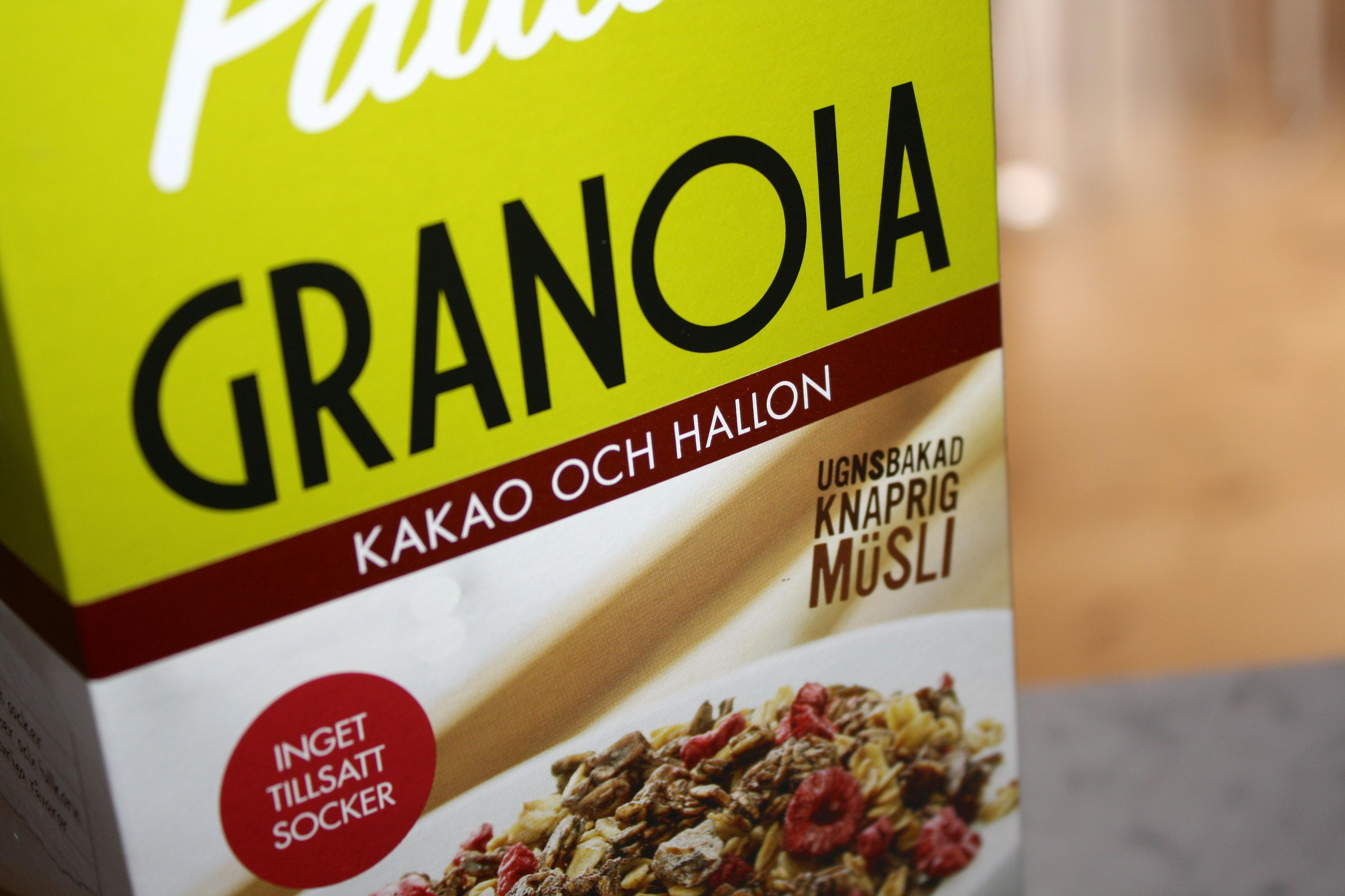 granola utan socker