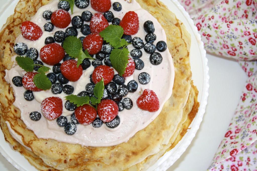 pannkakstårta