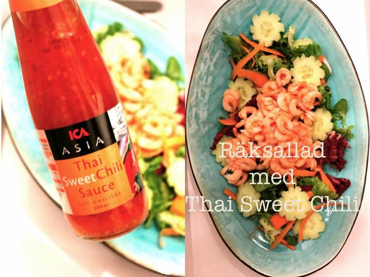 räksallad thai sweet chili