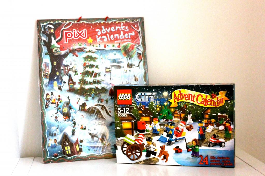 adventskalender, julkalender, pixi, lego