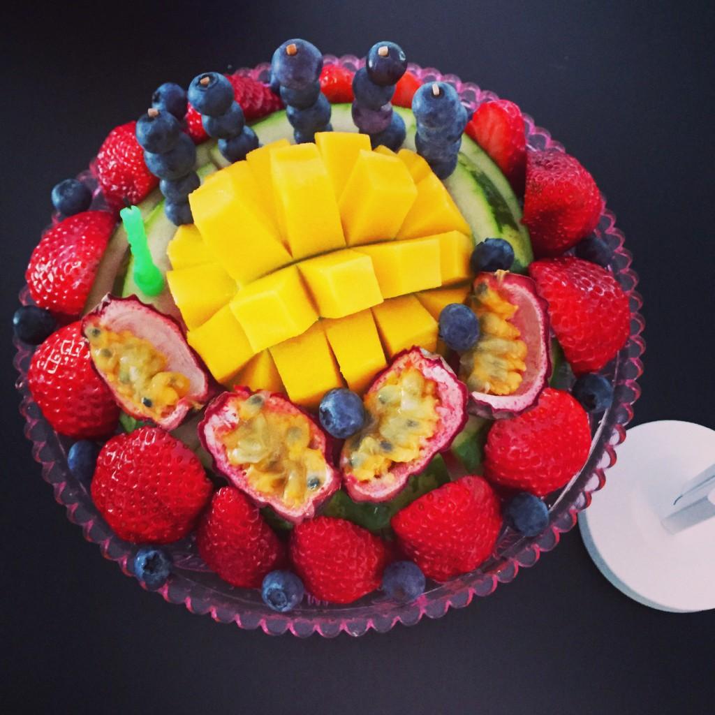 Nyttig Frukttårta av vattenmelon