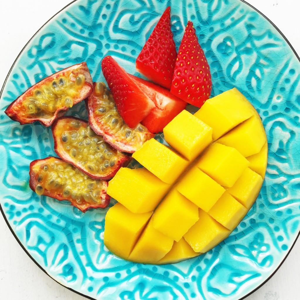 mango, färsk frukt