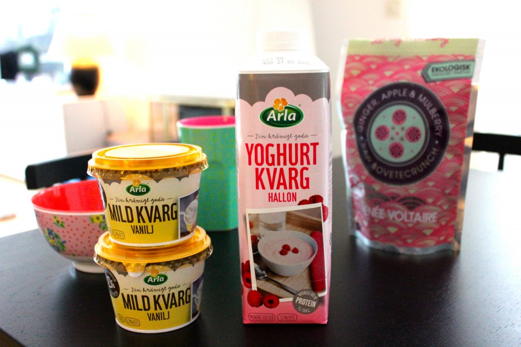 arla yoghurt & kvarg