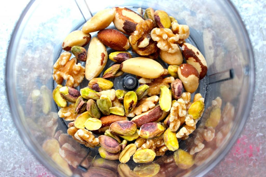 blandade nötter