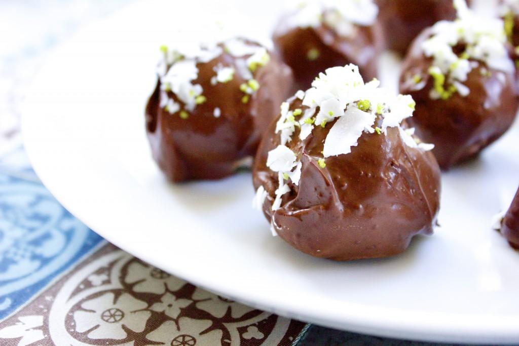 kokos och limebollar lchf sockerfritt