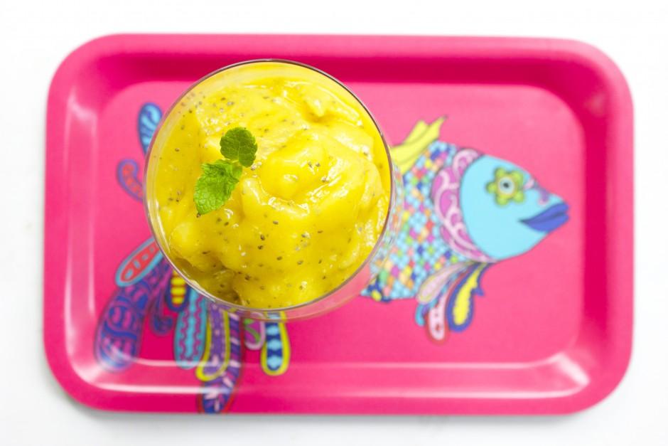 mango ingefära smoothie