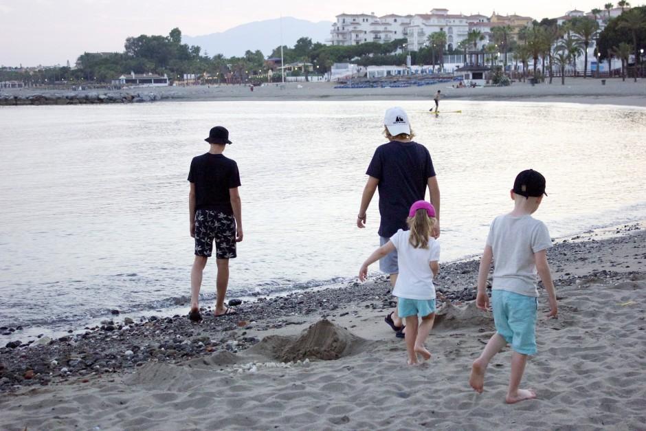 stranden i puerto banus