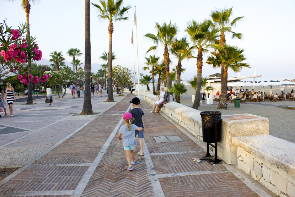 stranden puerto banus