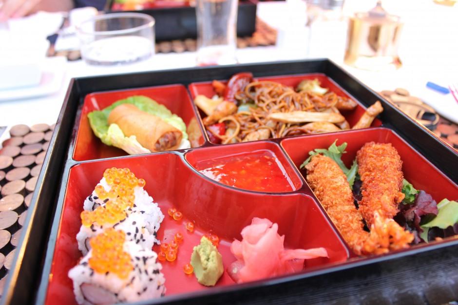 Japanese bento box Aloha grill puerto banus
