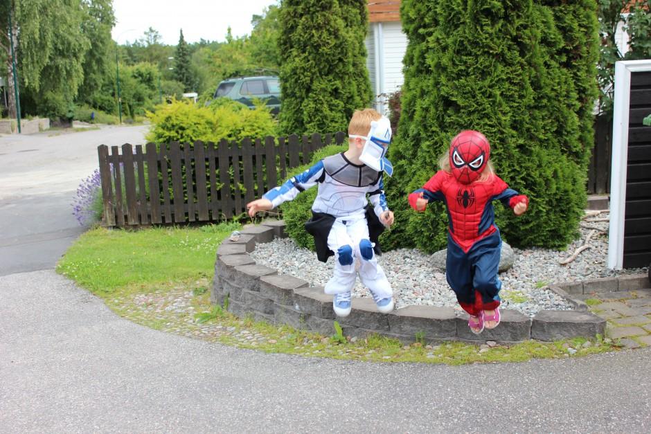 starrars och spiderman