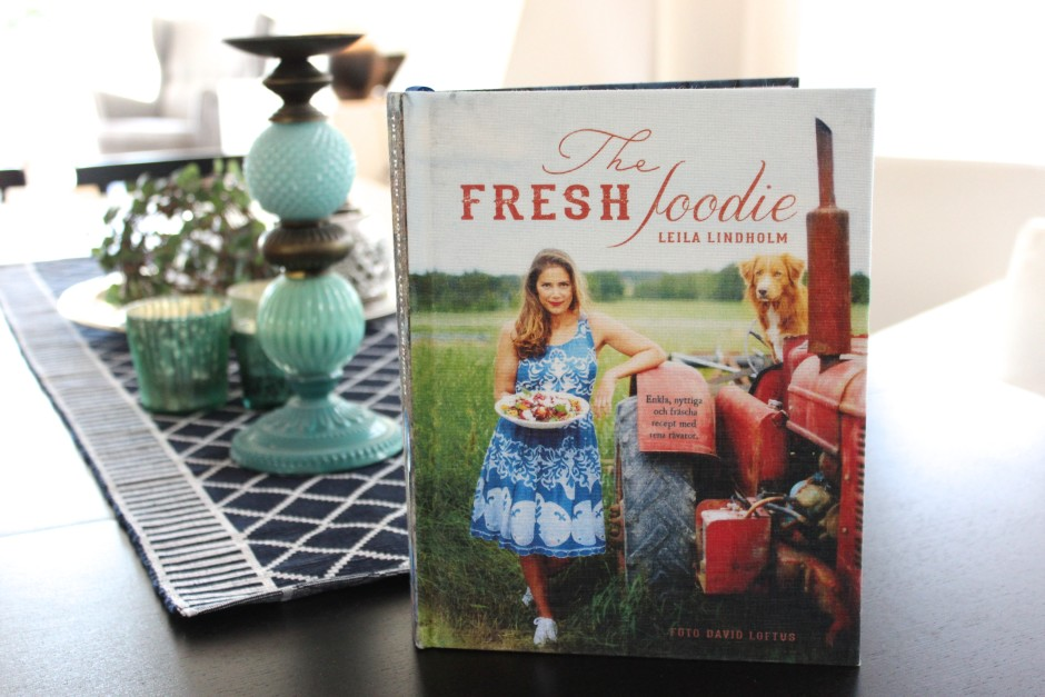 Boktips The fresh foodie av Leila Lindholm