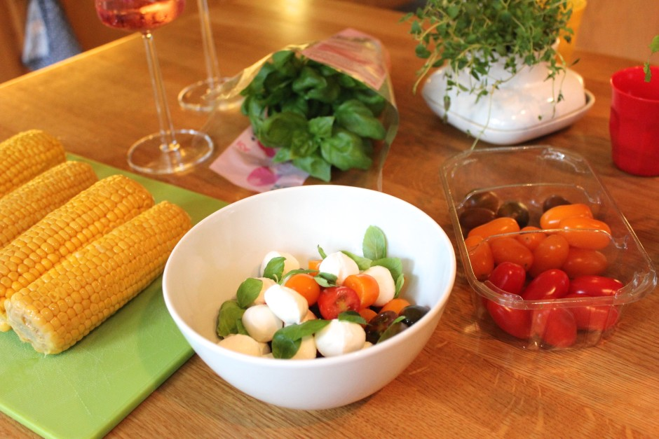 tomat mozzarellasallad
