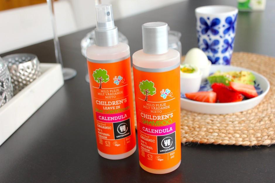 urtekram shampoo balsam för barn