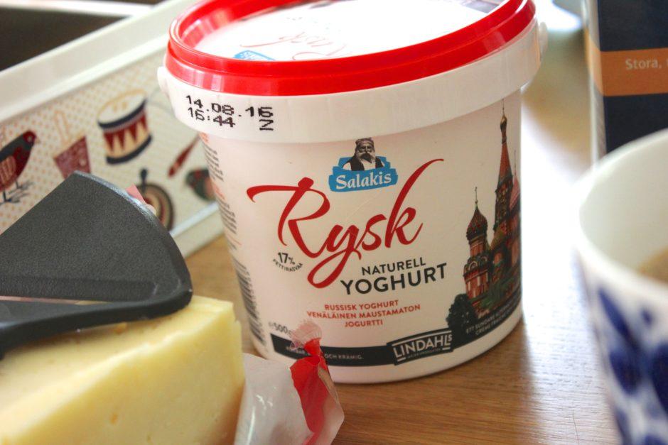 Rysk yoghurt, lchf, lowcarb