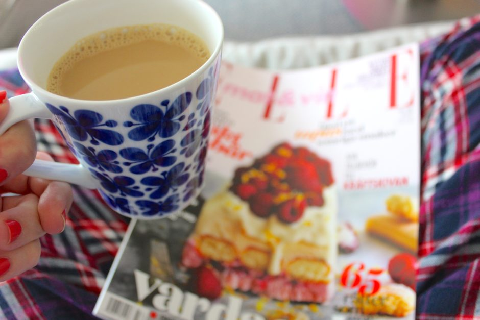 Kaffe och Elle mat och vin, tidningsprenumeration