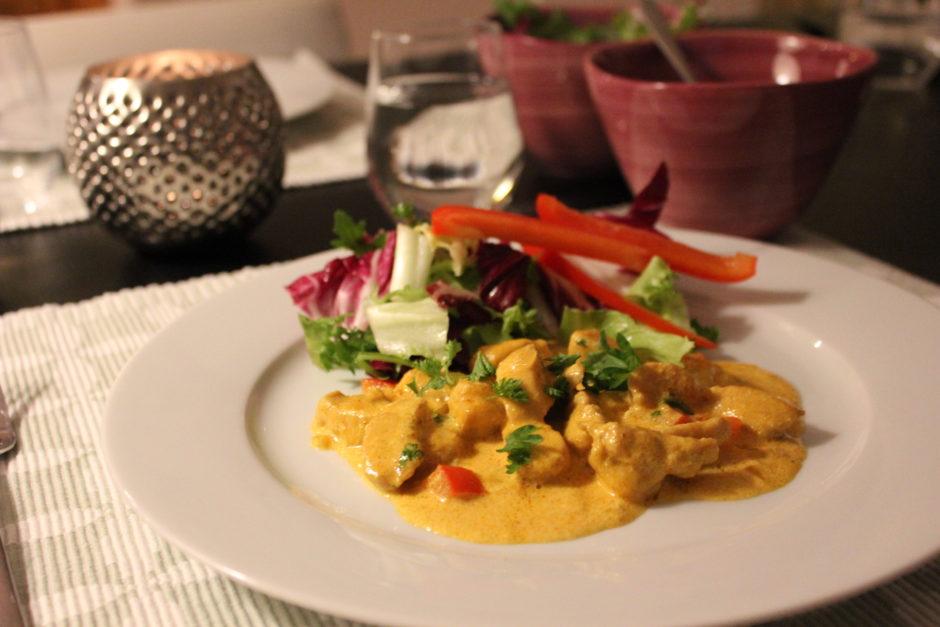 Kyckling curry, lchf, lowcarb