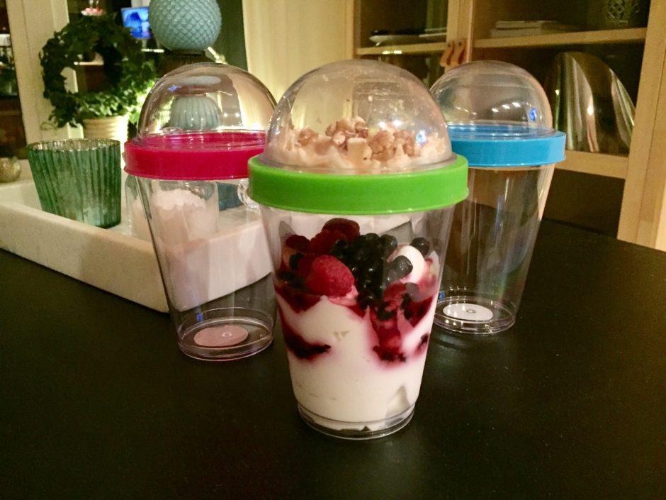 Rysk yoghurt med bär, lchf, Saga form